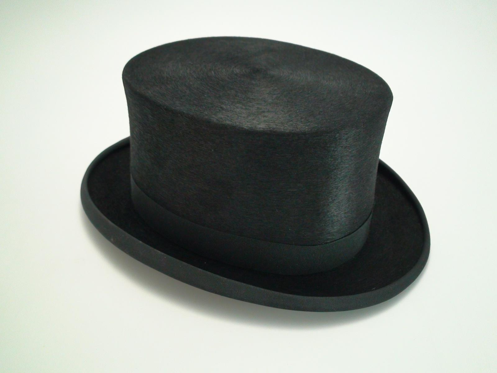 7ee72a3310a45f Christys London 100% Fine Fur Felt Black Dressage Top Hat
